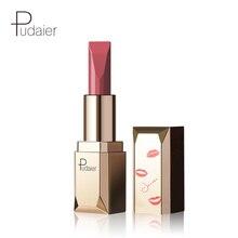 Pudaier 24 Colors Lipstick Moisturizing Vitamin E Lips Velvet Sexy Red Lip Matte Make Up Beauty Cosmetic