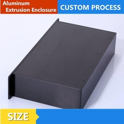 al6063 extruded split aluminum enclosure for circuit board 6338mm
