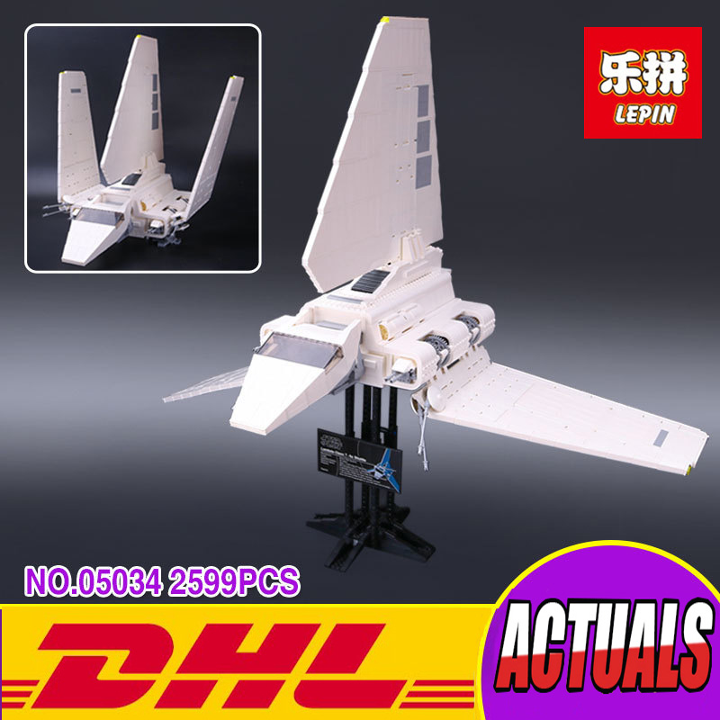 LEPIN 05034 Star War Series The Imperial Shuttle Building Assembled Blocks Bricks Toys Compatible with 10212 lepin 22001 pirates series the imperial war ship model building kits blocks bricks toys gifts for kids 1717pcs compatible 10210