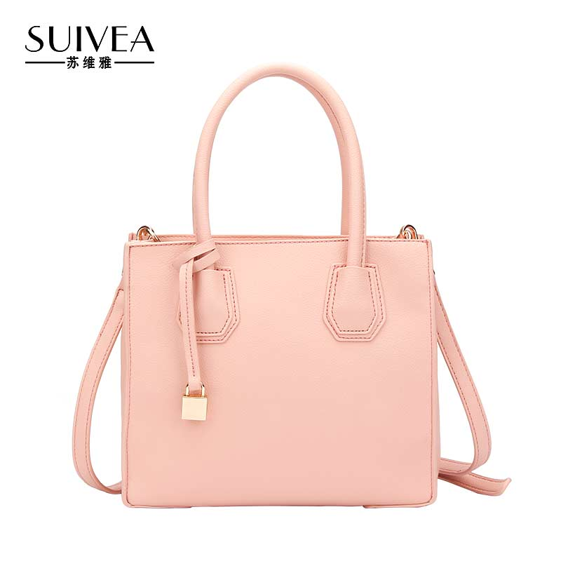 SUIVEA Brand Women Causal Tote Handbag Guarantee Quality PU Leather Ladies Fashion Style For Female Shoulder Bag