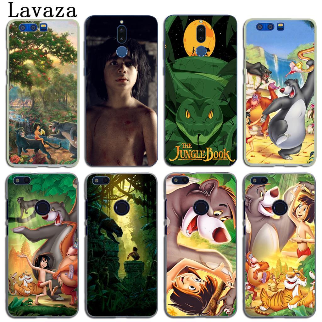Lavaza Cartoon The Jungle Book Phone Case for Huawei Y6 Y3 Y5 II Y7 2017 Nova 2 Plus 2S 2i Honor 9 8 Lite 7 6 6A 7X 6X Case