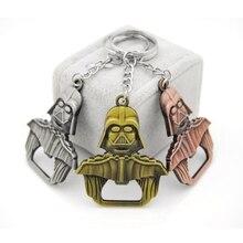Darth Vader Keychain New Style Design Star Wars Bottle Opener Alloy Key Rings Chain Trinkets for Fans Brand Gift