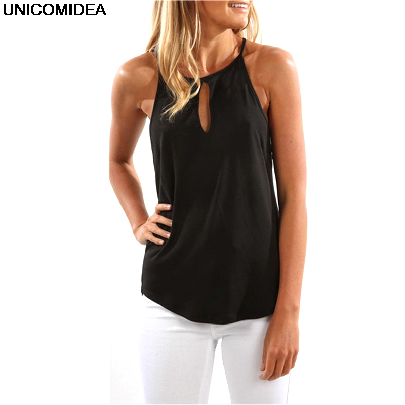 2020 Solid Summer Top Women <font><b>Sexy</b></font> Sleeveless Strap Camisole Tank Top Female Casual Tee <font><b>T</b></font> Shirt <font><b>Haut</b></font> <font><b>Femme</b></font> image