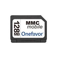 13Pins onefavor 128MB 256MB 512MB 1GB 2GB بطاقة RS MMC بطاقة الوسائط المتعددة المتنقلة RS MMC بطاقة MMC الجهد المزدوج مع محول مجاني