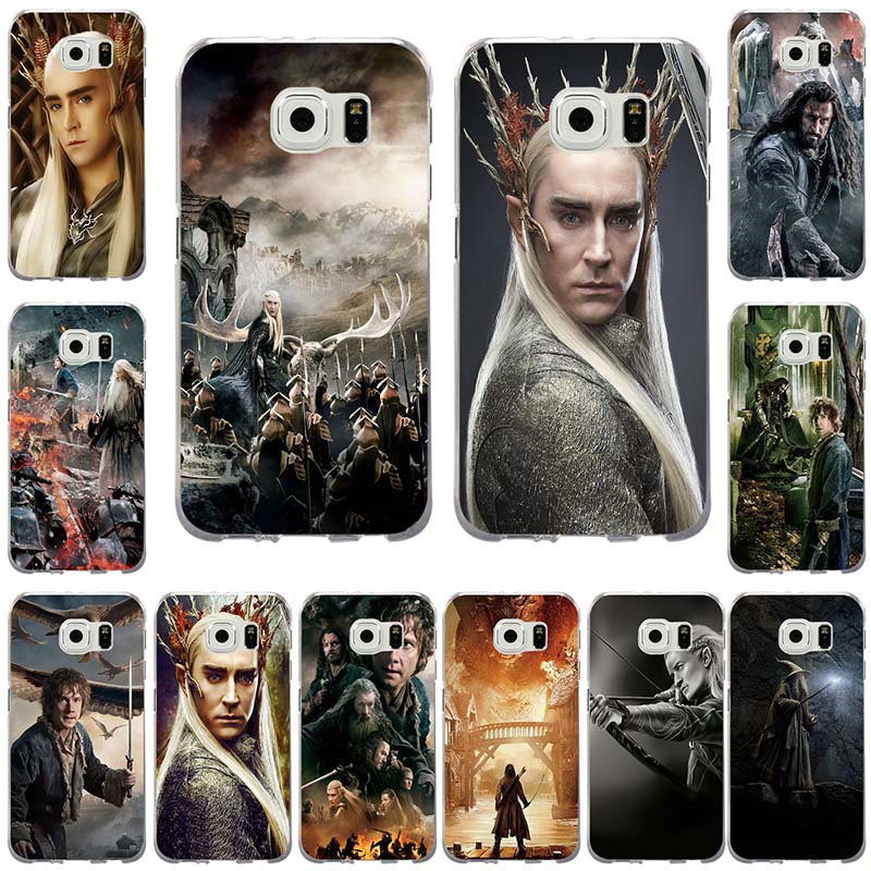 Transparent Soft Cover Bag For Samsung Galaxy S3 S4 S5 Mini S6 S7 Edge S8 S9 Plus Note 2 3 4 5 8 The Hobbit Movie Novelty Fundas Phone Bags & Cases Cellphones & Telecommunications