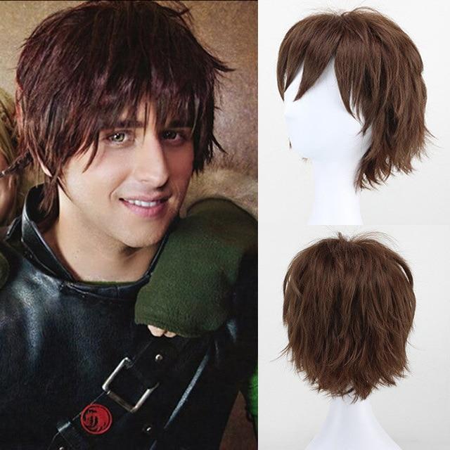 New Fashion Short Hair Wig Men Wigs Synthetic Short Mens