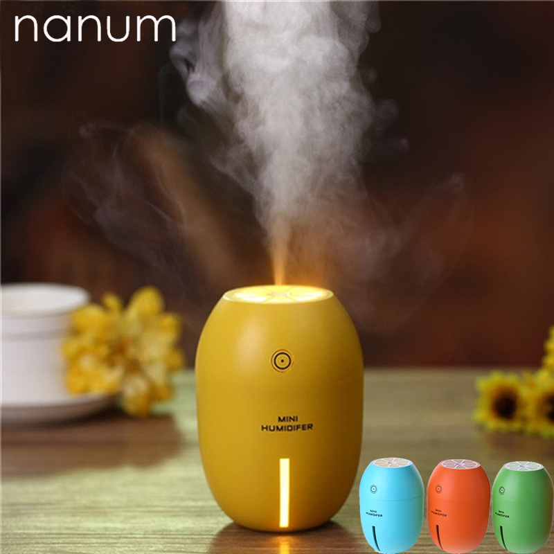 Car air freshener Portable Mini Humidifier for Home 180ML USB Lemon Car Essential Oil Aroma Diffuser Umidificador Aromatherapy ...
