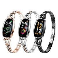 IP67 Women Wrist Watch Wearable Devices Smart Watches Smart Electronics clock Smartwatch Android IOS Blood Pressure Heart Watch|Smart Watches| |  -