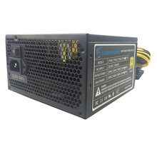 600W ATX 12V Gaming PSU 600W Computer PC Power Supply Computer PC CPU Power Supply 20+4pin 120mm Fans PCIE  SATA Desktop Power 400w atx pc computer power supply desktop gaming psu active pfc 120mm fan 170 264v power supplys for div computer
