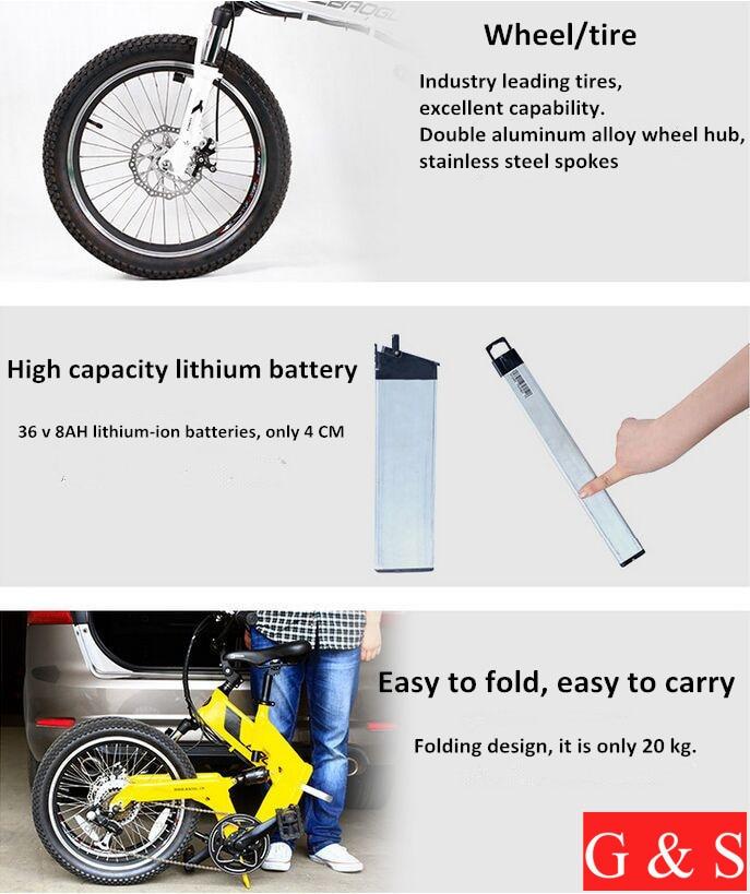 Super ελαφρύ 20 ιντσών αναδιπλούμενη - Ποδηλασία - Φωτογραφία 4