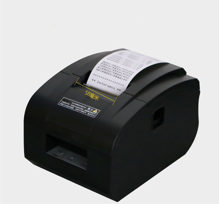wholesale 2017new high quality 58mm thermal Small ticket  receipt printer automatic cutting printing USB port or Ethernet port-in Printers from Computer & Office    2