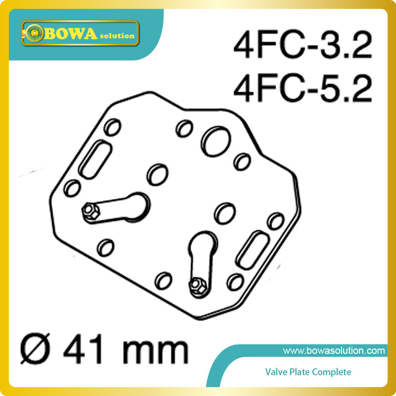 S4 dia.41mm Valve plate complete for bitzer piston compressor (4FC-3.2 and 4FC-5.2) simple 3d oil painting pearl and rose pattern 4 pcs duvet cover sets without comforter