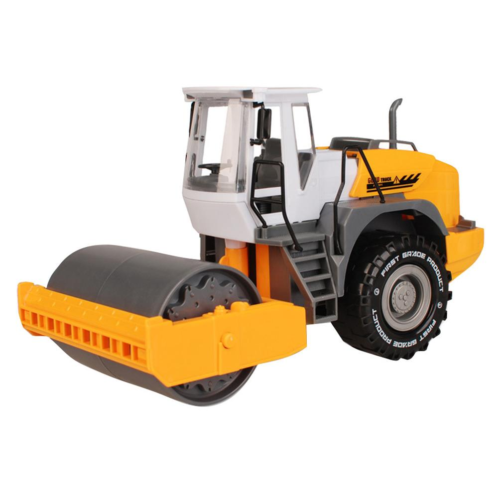 DIY Friction Powered Cars Push And Go Car Construction Vehicles Toys Street Roller
