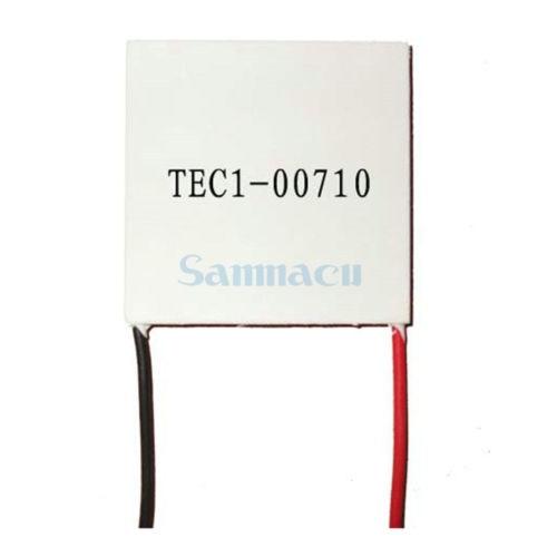 10x10x3.4mm 10A 0.82V 4.8W TEC1-00710 Thermoelectric Cooler Peltier Heatsink10x10x3.4mm 10A 0.82V 4.8W TEC1-00710 Thermoelectric Cooler Peltier Heatsink