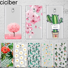 ciciber Plants Cactus For Nokia 8 7 7.1 6 6.1 5 5.1 3 3.1 2 2.1 1 Plus Phone case silicone TPU X7 X6 X5 X3 Fundas