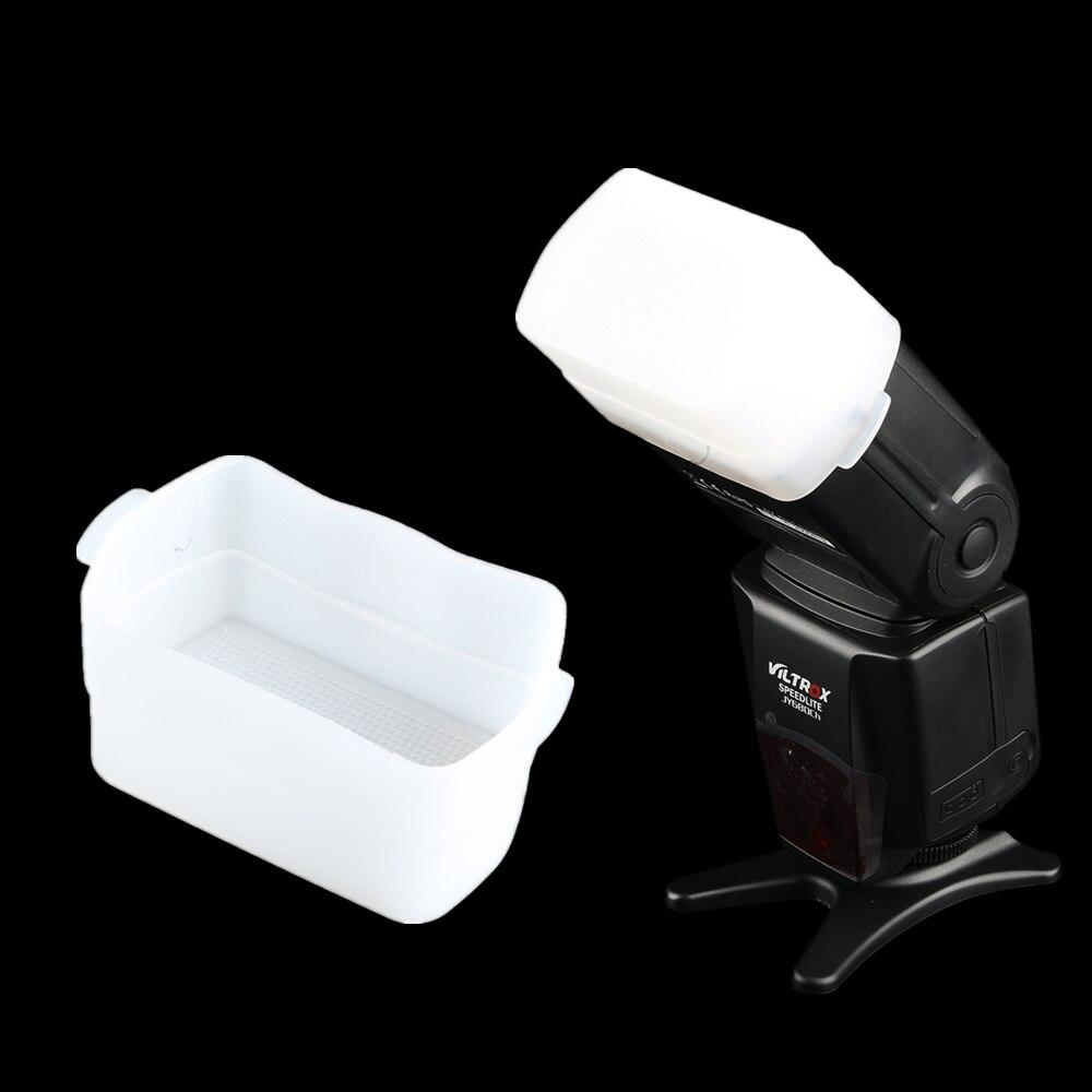 Viltrox Caméra Flash Bounce Diffuseur pour Canon Speedlite 580EX 580EX II/Viltrox JY-680A JY-680CH/YONGNUO YN560 II III YN-565EX