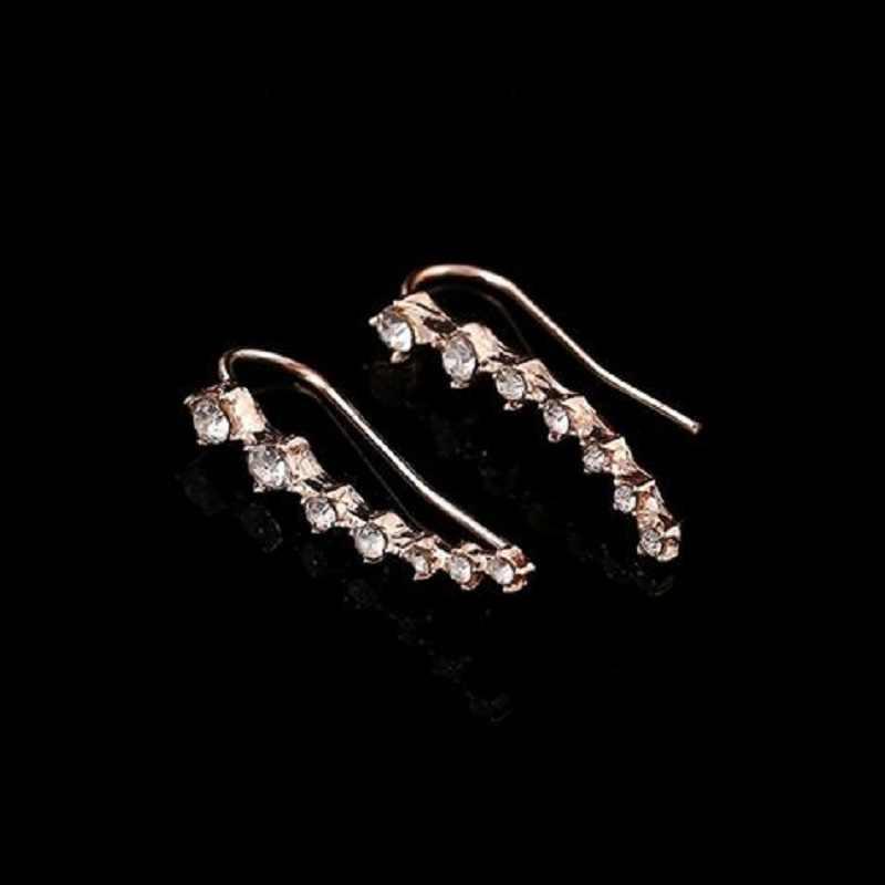 Новые модные букле D'oreille Серьги Bijoux Медведица со стразами для женщин Jewelry Серьги Brincos девушка Earing oorbel