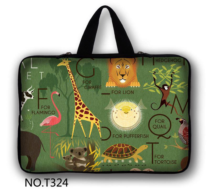 Animals 2015 New brand Designs 10.1 12 13.3 1415.6 17.3 Laptop Sleeve Bag Soft Case Notebook Cover For Sony Acer Asus HP image