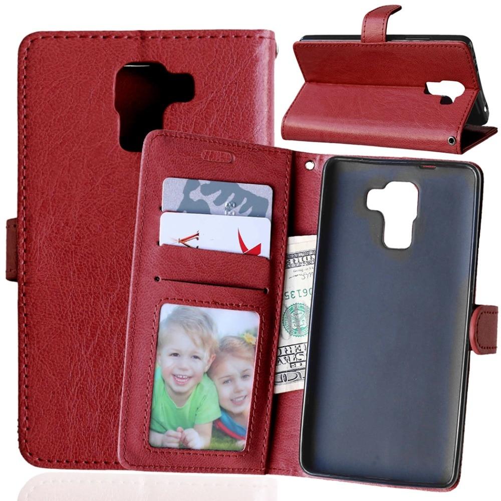4509c07b58bbe Designlife Odwróć PU Leather Wallet Case Stoiska dla Huawei Honor 7  Luksusowa Moda etui do Telefonów Komórkowych Pokrywa Z Karty posiadacze