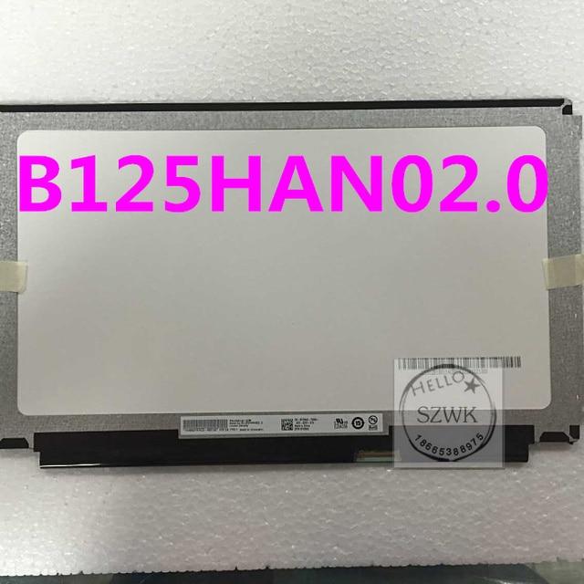 Brand 12.5inch IPS screen B125HAN02.0  B125HAN02