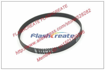 10pcs B118 MXL Timing Belt Teeth 118 Width 6.35mm Length 239.776mm B118MXL Rubber Closed-Loop Synchronous Belt Fit MXL Pulley фото