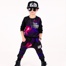 2016 Children Clothing Casual Boys Outfits Long Sleeve Coat+Pants Sport Suit Teenage Boy Tracksuit For 5-13Y