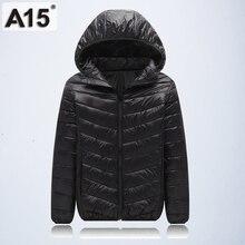 A15 소녀 옷 2018 봄 가을 패션 어린이 겉옷 소년을위한 따뜻한 코트 키즈 자켓 십대 브랜드 나이 10 12 14 16 년