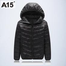 A15 Girls Clothes 2018 Spring Autumn Fashion Children Outerwear Warm Coat Kids Jacket for Boy Teenage Brand Age 10 12 14 16 Year