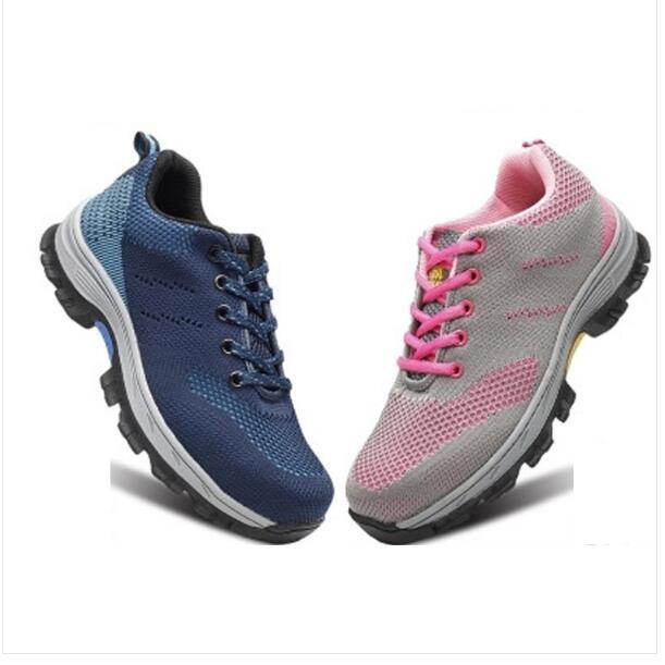 De Finas Ligeras Seguridad Trabajo Zero Mujer Botas Zapatos Para 4zYwq656