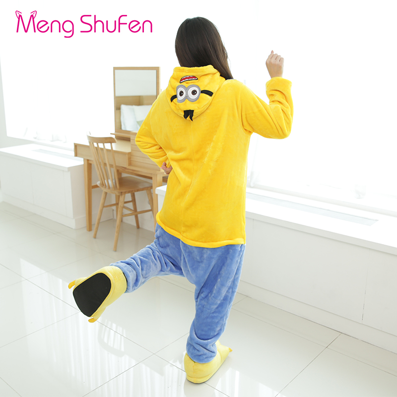 3b66aaf8e1b2 Mengshufen Onesie Pajamas Women Chinese Market Man Funny Winter Yellow Funny  Full Body Ladies Pyjamas Sleepwear Nightgown 1218 on Aliexpress.com