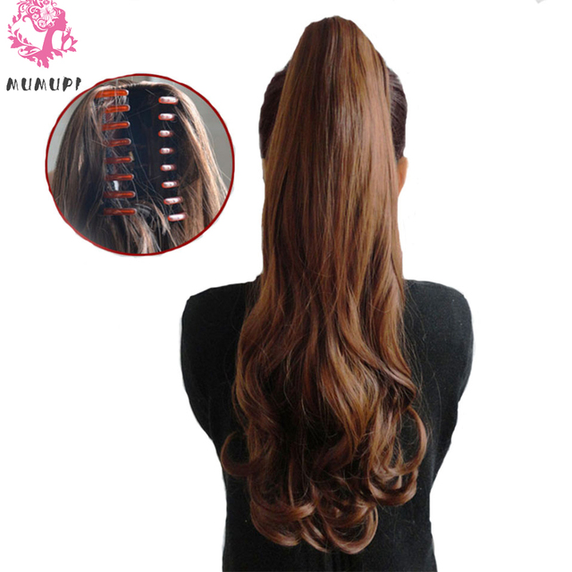 22-inch long curly hair wig extended perspective for ladies