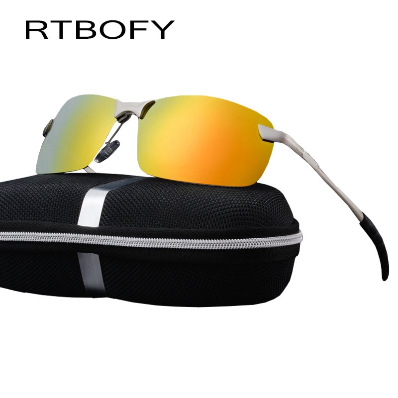 RTBOFY Car drivers night vision Goggles Anti glare Polarizer Sunglasses Polarized Driving Glasses With Box 3043