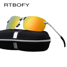 RTBOFY car drivers night vision goggles anti-glare polarizer sunglasses Polarized Driving Glasses With Box.3043