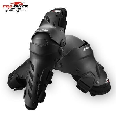 PRO-BIKER Neue Motorrad knie protector Knie sliders joelheira motosiklet dizlik knie Schutz Getriebe Protector Guards Kit