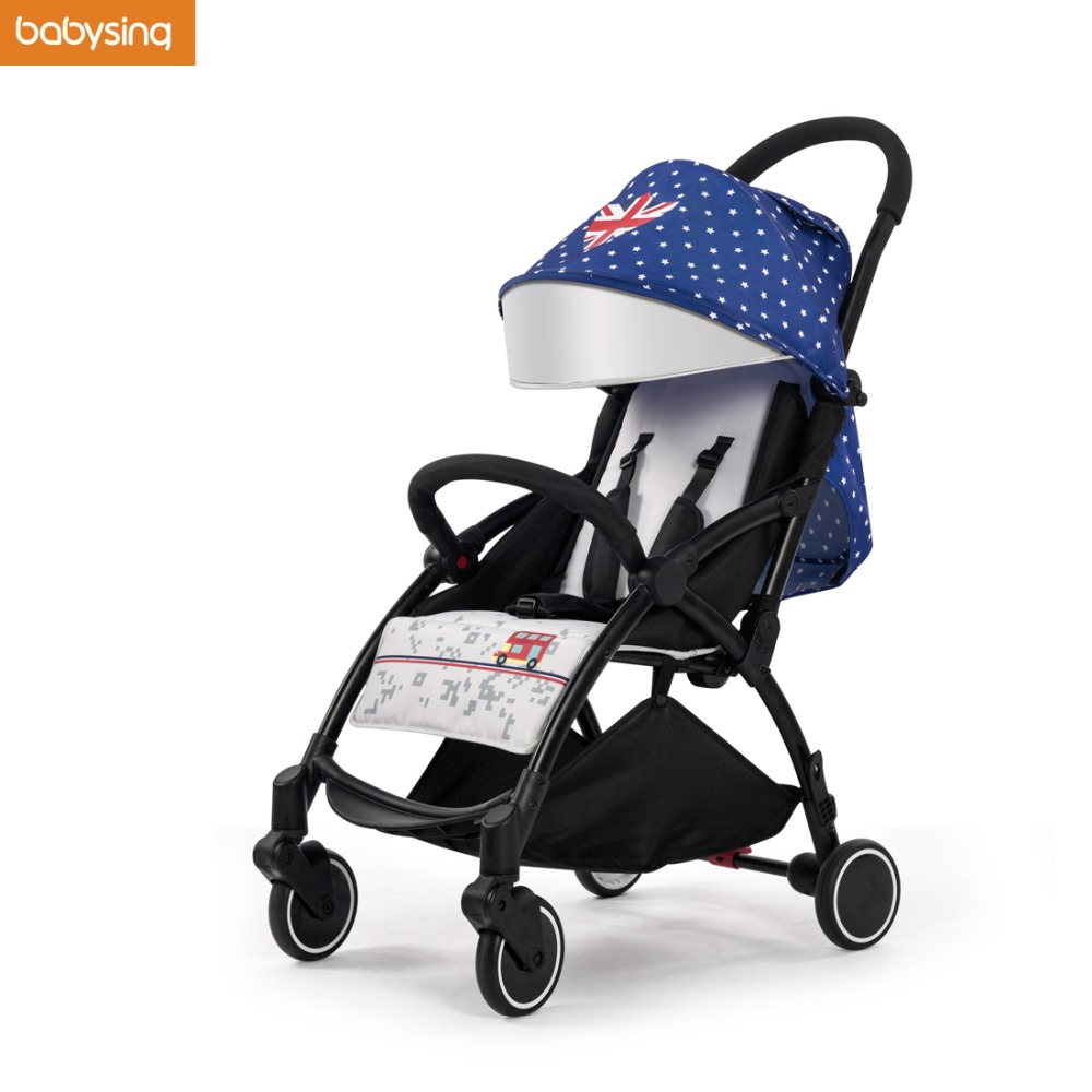 Babysing I9 Plus 360 Degree Rotation Wheels Foldable Portable Lightweight Travel Umbrella Pram Pushchair Baby Stroller bq bq aquaris m5 crystal прозрачная прозрачная