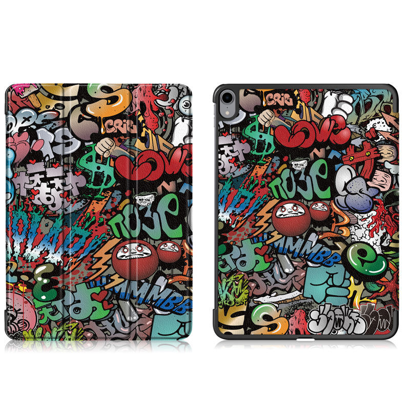 Case For Ipad Pro 11 Cover Funda For New Ipad Pro 11 Inch Tablet PU Leather Protective Stand Skin Shell +Stylus+Film