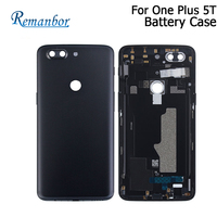 Remanbor For OnePlus 5T Battery Cover Case 5.5Protective Battery Back Cover Fit Replacement For One Plus 5T Phone Accessory