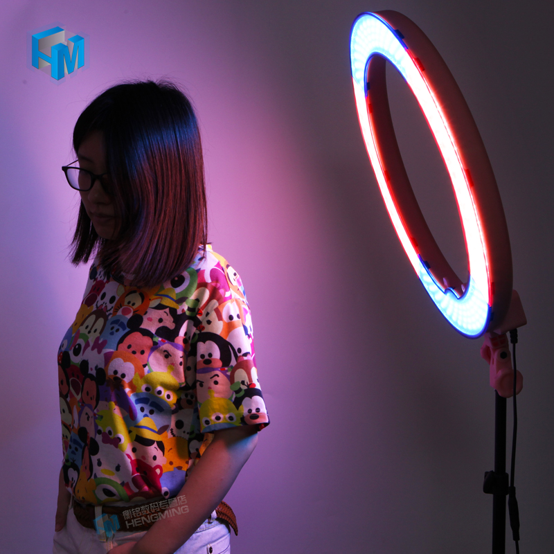 18 Outer 55W 5500K Camera Photo Video LED Ring Light Dimmable Photography Ring Video Light for