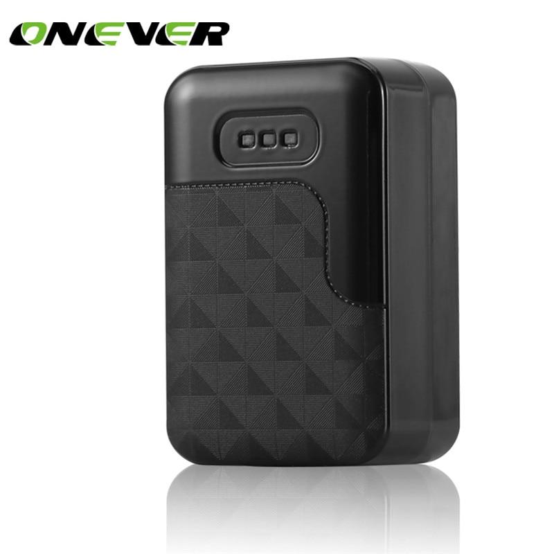 Onever GSM LBS GPRS gps в реальном времени трекер локатор мощные магнитные устройства слежения Системы 60 дней в режиме ожидания для автомобиля