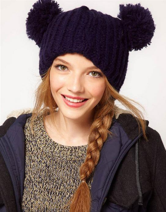 Skullies & Beanies 2016 new winter fashion casual knitted bonnet 93016 skullies