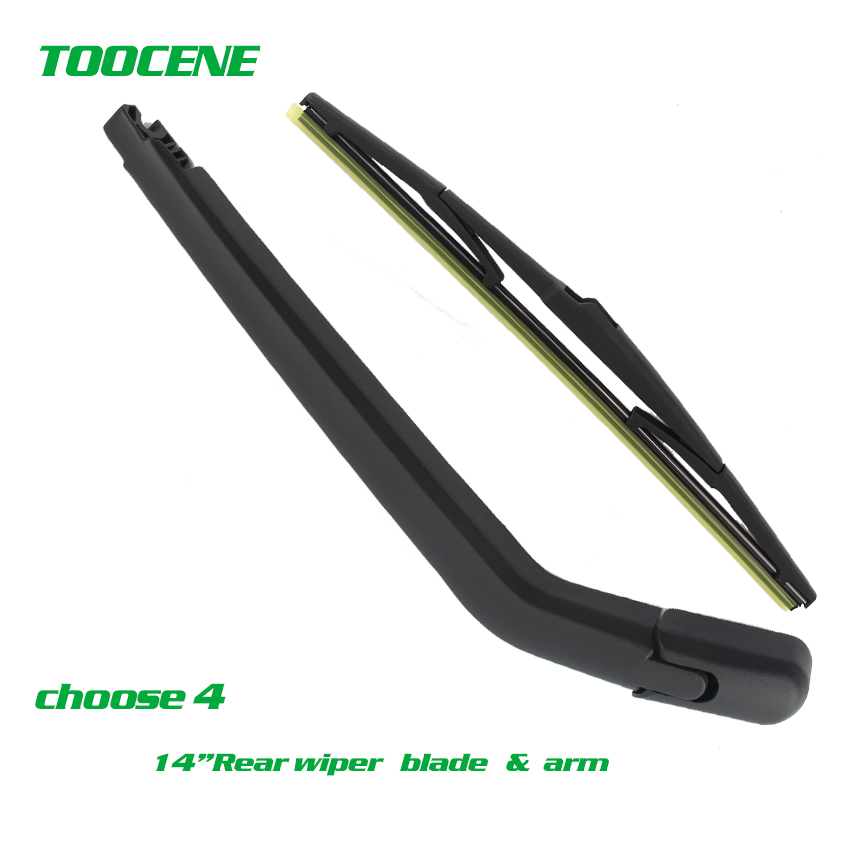 Rear Wiper Blade and arm For <font><b>Toyota</b></font> <font><b>Corolla</b></font> 2002-2007 3/5-door Hatchback High quality Windshield Windscreen wiper image