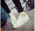 Весна/лето 2017 женская обувь, Босоножки, Совет Обувь рекреационных ботинок повелительницы плоские студенты обувь размер 35-40