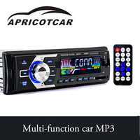 Xe MP3 Player Bluetooth FM Transmitter U Đĩa USB Thẻ SD Radio Hỗ Trợ Điều Khiển Từ Xa Truyền Tải Âm Thanh Vành Đai Hiển Thị Thời Gian