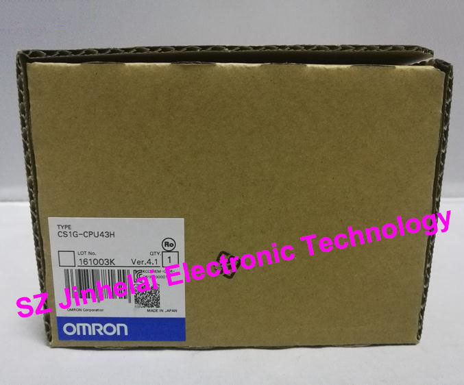 100% New and original CS1G-CPU43H OMRON CPU UNIT [zob] 100% brand new original authentic omron omron photoelectric switch e2s q23 1m 2pcs lot