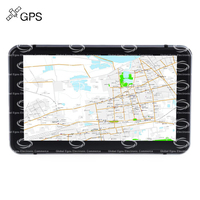 Rectangle 706 7 Inch Truck Car GPS Navigation Navigator With Free Maps Win CE 6 0