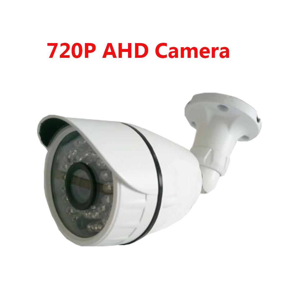 HD AHD Camera 720P 1.0MP Surveillance Cam Waterproof CCTV Security Camera IR CMOS 36pcs IR LED indoor/outdoor Day&Night Camera new 800tvl cmos 960h 36pcs ir leds 30 meters day night waterproof surveillance cctv camera with bracket for indoor or outdoor