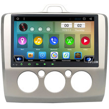 Quad-Core Android 6.0 9″ 4G WIFI DAB Car DVD Multimedia Player Radio For Ford Focus 2 MT 2004 2005 2006 2007 2008 2009 2010 2011