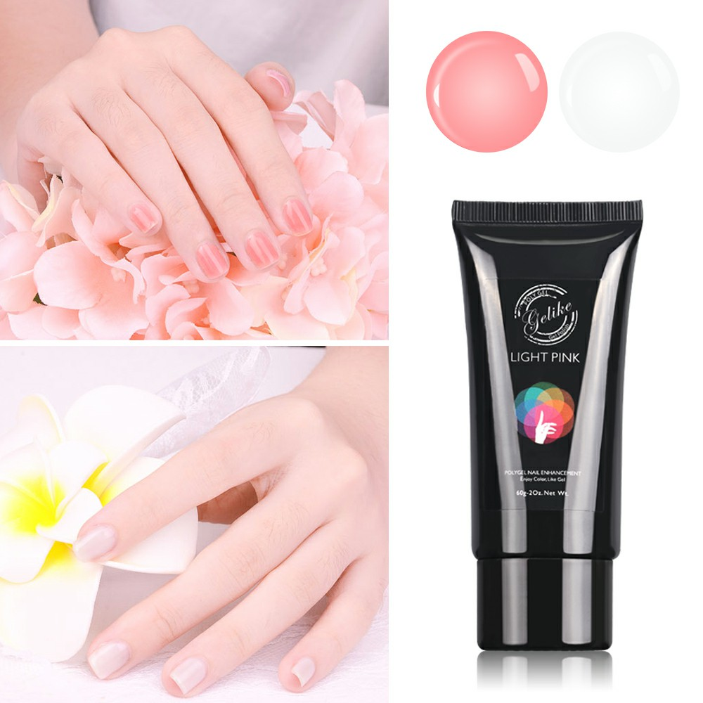 Gelike Poly Gel 60g Builder Easy Use Cheap UV Nails Extension Art Repair Nail Damage