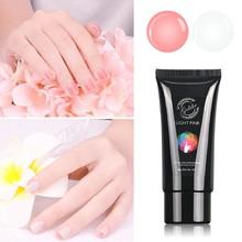 Gelike Poly Gel 60g Builder Gel Easy Use Cheap UV Gel Nails Poly Gel Extension Nails Art Repair Nail Damage mustela gel lavant doux