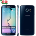Оригинальный Samsung Galaxy S6 Edge G925F Мобильный Телефон Окта Ядро 3 ГБ RAM 32 ГБ ROM 16MP Android 5.0 2600 мАч Разблокирована LTE смартфон